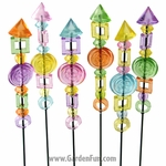 Sparkle Stix Garden Stakes (Set of 6)