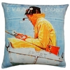 Sport Fishing Outdoor Pillow