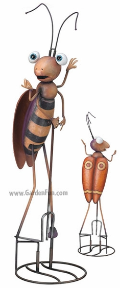 Spotted Bug Garden Statue - Click to enlarge