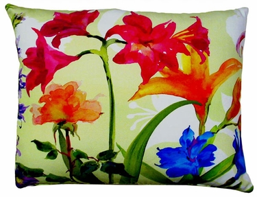 Spring Fling A Outdoor Pillow - Click to enlarge