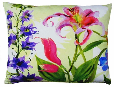 Spring Fling B Outdoor Pillow - Click to enlarge