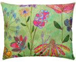 Spring Mix Outdoor Pillow