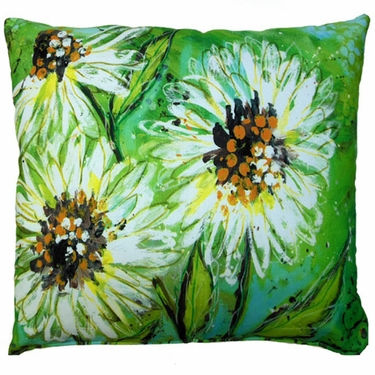 Spring Splash Outdoor Pillow - Click to enlarge