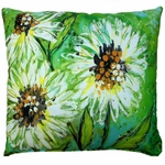 Spring Splash Outdoor Pillow