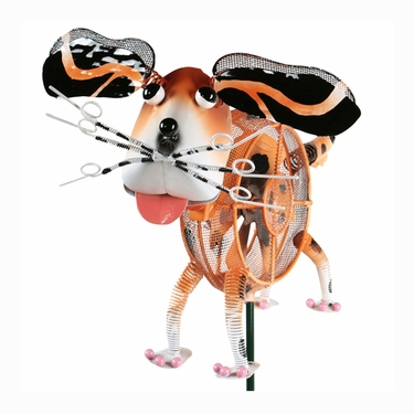 Springee Spinners Dog Garden Stake - Click to enlarge