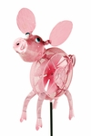 Springee Spinners Pig Garden Stake