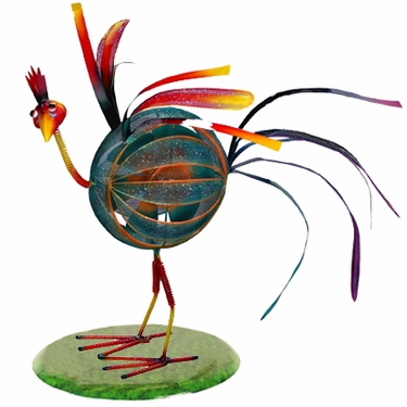 Springee Spinners Rooster Decor - Click to enlarge