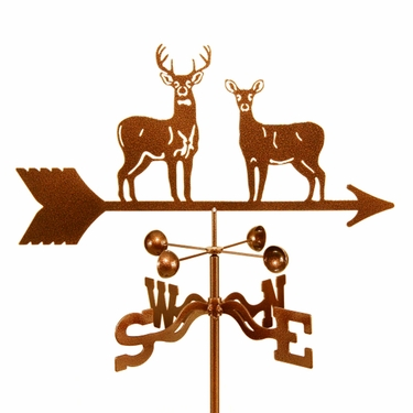 Standing Deer Weathervane - Click to enlarge