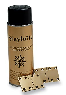 Staybrite Brass Lacquer - Click to enlarge