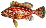 Strawberry Grouper Wall Decor