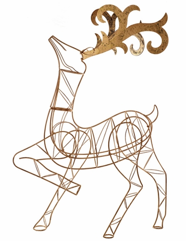 Stylized Metal Deer - Click to enlarge