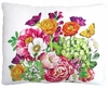 Summer Bouquet Outdoor Pillow