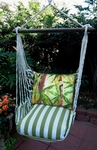 Summer Palms Bamboo Hammock Chair Swing Set