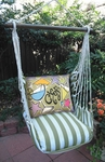 Summer Palms Cheers Hammock Chair Swing Set