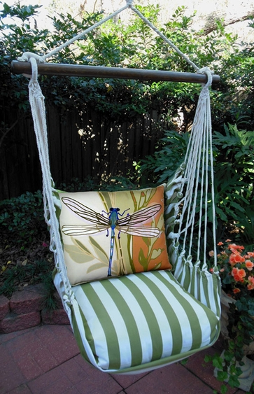 Summer Palms Dragonfly Hammock Chair Swing Set - Click to enlarge