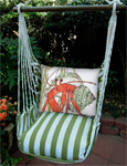 Summer Palms Hermit Crab Hammock Chair Swing Set