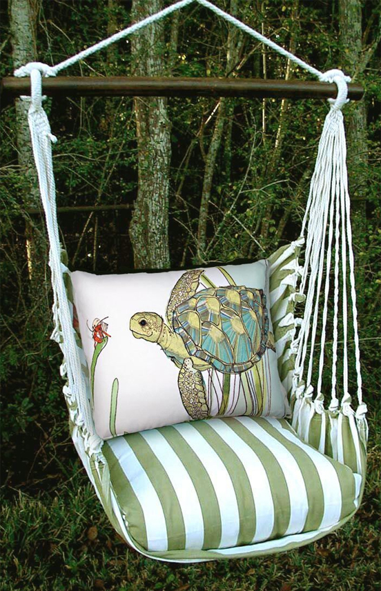 Summer Sea Turtle Hammock Chair Swing GardenFuncom