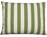 Summer Palms Stripe Outdoor Pillow