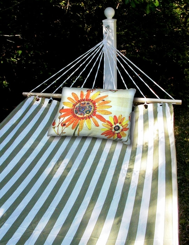 Summer Palms Sundure Fabric Hammock - Click to enlarge