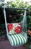 Summer Palms Tulips Hammock Chair Swing Set