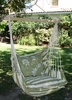 Summer Stripe Toile Hammock Chair Swing Set