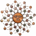 Sun Circles Wall Art
