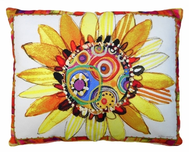 Sunflower Dreams Outdoor Pillow - Click to enlarge