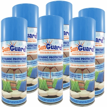 SunGuard UV Fabric Protectant (6 Pack) - Click to enlarge