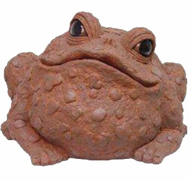 Super Jumbo Toad Statue - Coffee - Click to enlarge