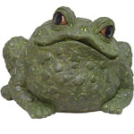 Super Jumbo Toad Statue - Evergreen