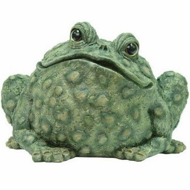 Super Jumbo Toad Statue - Dark Natural - Click to enlarge