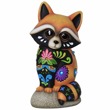 Sweet Baby Raccoon Statue - Click to enlarge