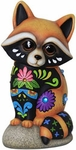 Sweet Baby Raccoon Statue
