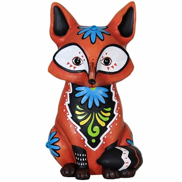 Sweet Baby Red Fox Statue - Click to enlarge