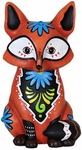 Sweet Baby Red Fox Statue