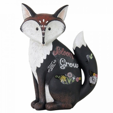 Sweet Fox Statue - Bloom & Grow - Click to enlarge