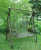 "Swing Bench ""Valiko"" Style - Antique Bronze"