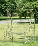 "Swing Bench ""Valiko"" Style - Antique Moss"