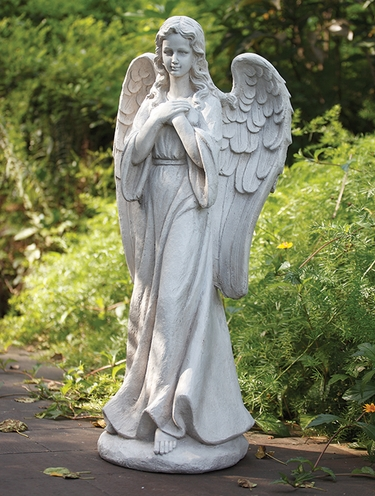 Tall Praying Angel Statue - Click to enlarge