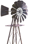 "90"" Tall Rustic Windmill"
