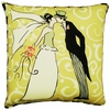 The Kiss Outdoor Pillow