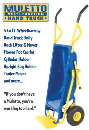 The Muletto: Little Mule Multi Cart - Click to enlarge
