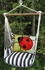 True Black Ladybug Garden Hammock Chair Swing Set