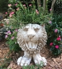 Tiger Mascot Planter - Antique Finish