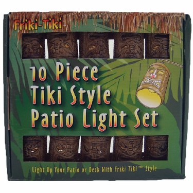 Tiki String Lights - Classic Style - Click to enlarge