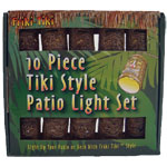 Tiki String Lights - Classic Style