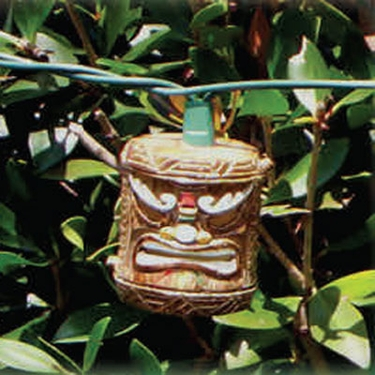 Tiki String Lights - Tribal Style - Click to enlarge