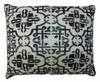 Tile Black 2 Outdoor Pillow