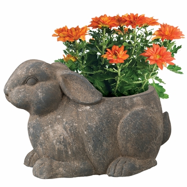 Timeless Rabbit Planter - Click to enlarge