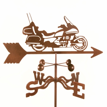 Touring Motorcycle Weathervane - Click to enlarge